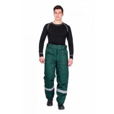 Брюки зимние мужские Эксперт-Люкс (тк.Смесовая,210), зеленый
