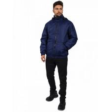 Куртка демисезонная Бомбер Люкс (тк.Дюспо), т.синий