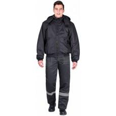 Куртка демисезонная Бомбер (тк.Дюспо), черный