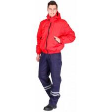 Куртка демисезонная Бомбер (тк.Дюспо), красный