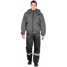 Куртка демисезонная Бомбер (тк.Дюспо), серый