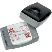 Фильтр противоаэрозольный 3M  модель 6038 класс защиты P3 комплект 2 шт