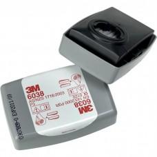 Фильтр противоаэрозольный 3M  модель 6038 класс защиты P3