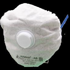 Полумаска Алина АВ      FFP2  (с клапаном выдоха)