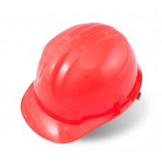 Каска защитная, красная