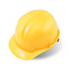 Каска защитная, жёлтая