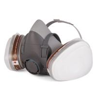 5500P Полумаска Jeta Safety фильтрующая из изолирующих материалов (термопласт), размер L, фильтры в комплект не входят