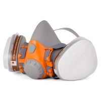 6500 Полумаска Jeta Safety фильтрующая из изолирующих материалов, размер M, фильтры в комплект не входят