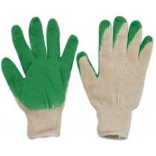 Перчатки вязаные х/б двойной облив
