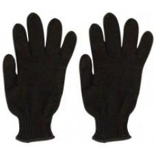 Перчатки вязанные утепленные, полушерстяные, двойной вязки (3 нити) размер 20