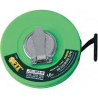 Рулетка фиброглассовая лента, зеленая 10 м