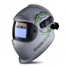 Щиток защитный лицевой сварщика е684 с тканевыми деталями