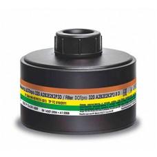 Фильтр для противогаза ДОТ про 320 А2B2E2K2Р3D