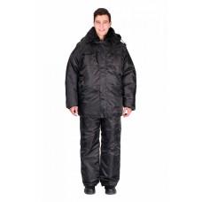 Куртка зимняя Охранник, черный