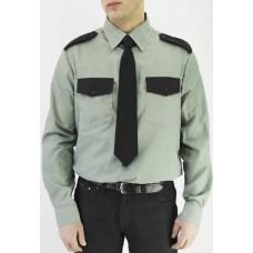 Рубашка охранника с длинным рукавом мужская, зеленый