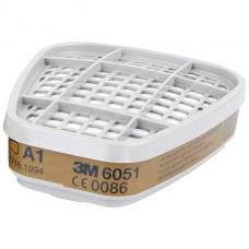 Фильтр 3М модель 6051 класс защиты A1  комплект 2 шт.