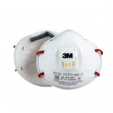 Респиратор 3M 8132 FFP3 с клапаном и зажимом