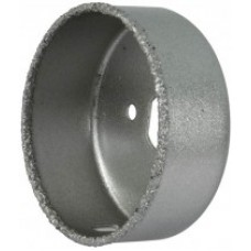 Коронка кольцевая по кафелю карбидная, глубина пропила 25 мм, диам=19 мм