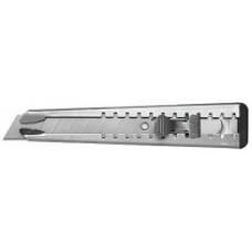 "Нож технический, ""Техно"", 18 мм, мет/корпус, мет/фиксатор"