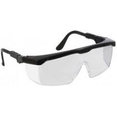 Очки защитные с регулируемыми дужками, прозрачные