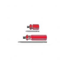 Отвертка с перест. жалом (крест/шлиц), 6x32мм (PH2/SL6)