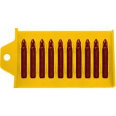 Биты односторонние 20шт., сталь S2, 25 мм, PZ 3