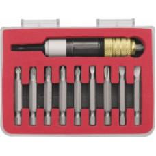 Адаптер магнитный с ограничителем глубины для бит 50 мм + 9 бит S2