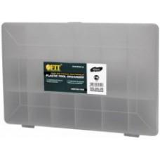 Ящик для крепежа (органайзер) прозрачный (27.5 х 18.5 х 4.2 см)