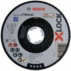 Диск отрезной Expert for Metal X-LOCK (125x2.5x22.23 мм; прямой) Bosch 2608619255