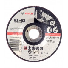Диск отрезной по металлу 125х22,2 мм Bosch 2608600219
