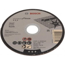 Диск отрезной по нержавеющей стали Standard 125x1х22.2 мм Bosch 2608603171