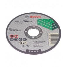 Диск отрезной прямой по камню (115х22,23х2,5 мм) Bosch 2608600320