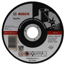 Круг отрезной Rapido Long Life для ручных УШМ (125х22 мм) Bosch 2608602221