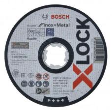 Отрезной диск по металлу X-LOCK (125x1x22.2 мм) Bosch 2608619264