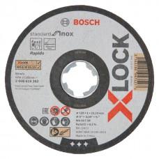 Отрезной диск по нержавеющей стали X-LOCK (125x1x22.2 мм) Bosch 2608619262