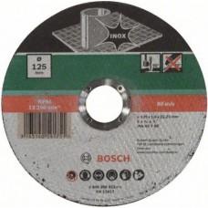Отрезной круг (125x1.6; прямой) Standard по нержавеющей стали Bosch 2608603172