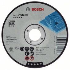 Круг отрезной по металлу Standard (125x1.6х22.2 мм) Bosch 2608603165