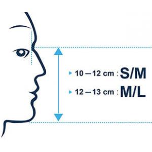 Как определить размер маски или полумаски
