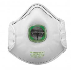 Полумаска фильтрующая SPIROTEK VS 2100V c клапаном FFP1