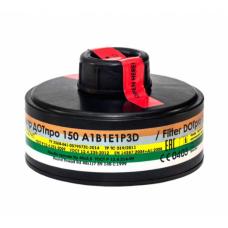 Противогазовый фильтр ДОТ про 150  А1В1Е1Р3D