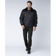 Куртка зимняя для Охранника укороченная, черный