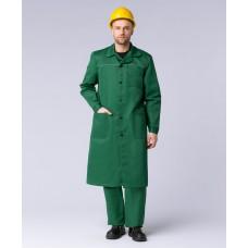 Халат мужской ИТР (тк.Смесовая,210), зеленый