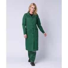 Халат женский ИТР (тк.Смесовая,210), зеленый