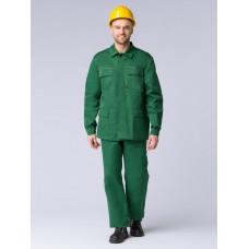 Костюм Экспертный-Люкс (тк.Смесовая,210) брюки, зеленый