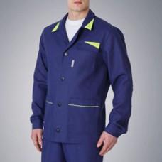 Куртка удлиненная мужская х/б PROFLINE BASE, т.синий
