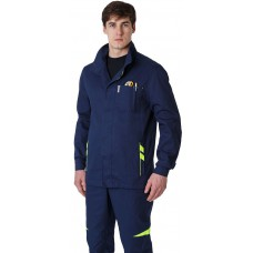 Куртка удлиненная мужская PROFLINE SPECIALIST (тк.Саржа), т.синий
