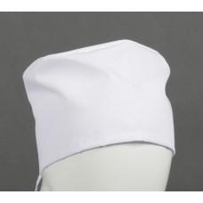 Белый колпак для медиков (ткань ТиСи)