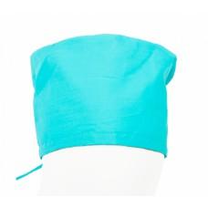 Бирюзовый колпак для медиков (ткань ТиСи)