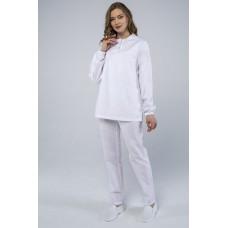 Женский костюм ХАССП-Стандарт (ткань Оптима, 160), белый