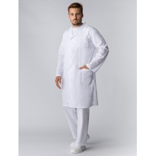 Халат мужской Классика (тк.ТиСи), белый
